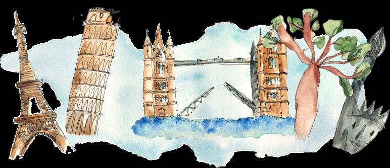 París, Pisa, Londres, Nueva York: ¡descubre el mundo con EasyLingo!
