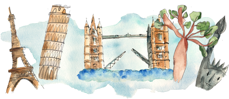 Paríž, Pisa, Londýn, New York - odkrywaj świat z EasyLingo!